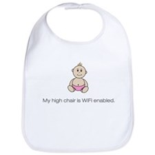 Cute Baby in chair Bib
