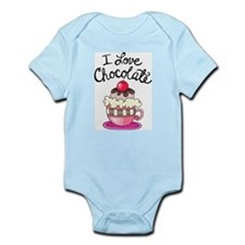 I Love Chocolate Infant Bodysuit