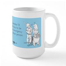 Emergency Contact Large Mug