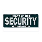 Alabama Security 35x21 Wall Decal