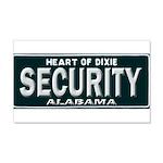 Alabama Security 20x12 Wall Decal