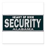 Alabama Security Square Car Magnet 3