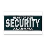 Alabama Security Rectangle Car Magnet