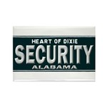 Alabama Security Rectangle Magnet (100 pack)