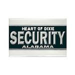 Alabama Security Rectangle Magnet (10 pack)