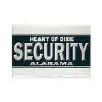 Alabama Security Rectangle Magnet