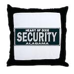 Alabama Security Throw Pillow