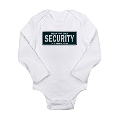 Alabama Security Long Sleeve Infant Bodysuit