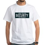 Alabama Security White T-Shirt