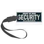 Alabama Security Large Luggage Tag