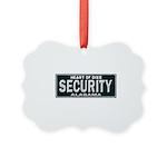 Alabama Security Picture Ornament