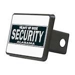 Alabama Security Rectangular Hitch Cover
