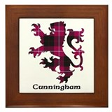 Lion - Cunningham Framed Tile