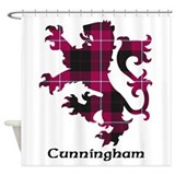 Lion - Cunningham Shower Curtain
