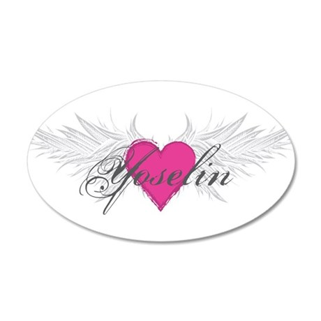 Yoselin-angel-wings.png 20x12 Oval Wall Decal