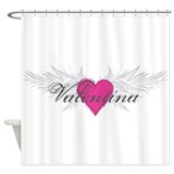 Valentina-angel-wings.png Shower Curtain