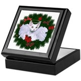 Christmas Angel Keepsake Box