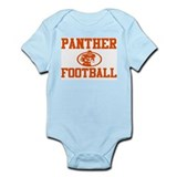 "PANTHER ""ROCKET"" ORANGE Infant Bodysuit"