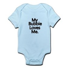 My Bubbie Loves Me..png Infant Bodysuit