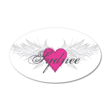 Sydnee-angel-wings.png 20x12 Oval Wall Decal