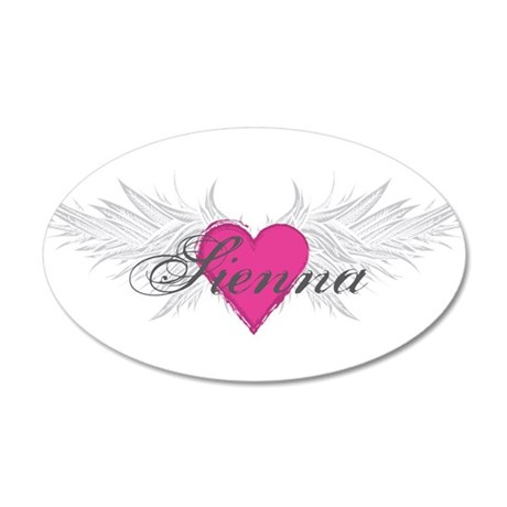 Sienna-angel-wings.png 35x21 Oval Wall Decal