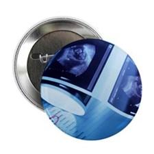 Foetus ultrasound - 2.25' Button (100 pack)