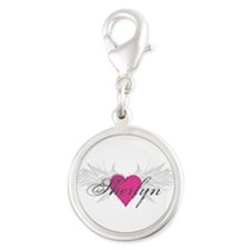 Sherlyn-angel-wings.png Silver Round Charm
