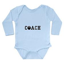 Bowling Coach Long Sleeve Infant Bodysuit