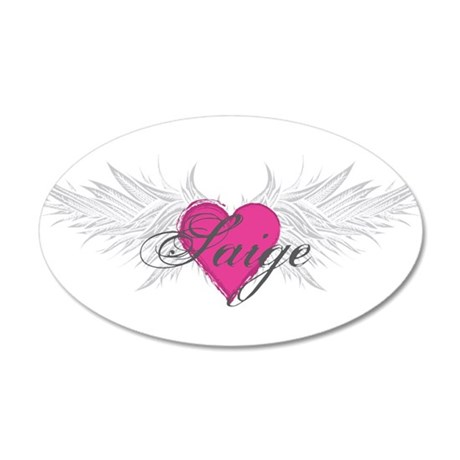 Saige-angel-wings.png 35x21 Oval Wall Decal