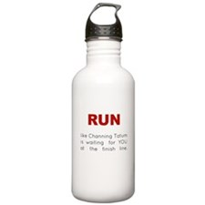 Running for Channing Tatum Water Bottle