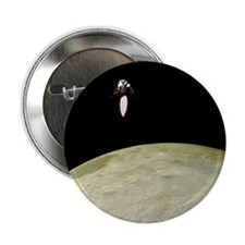 Apollo moon landing - 2.25' Button (100 pack)
