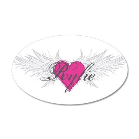 Rylie-angel-wings.png 35x21 Oval Wall Decal