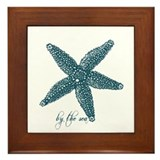 By the Sea Starfish Framed Tile