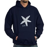 By the Sea Starfish Hoody