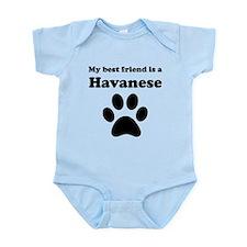 Havanese Best Friend Infant Bodysuit