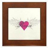 Reese-angel-wings.png Framed Tile