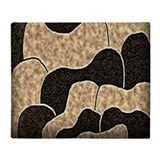 CHOCOLATE PETALS * Throw Blanket