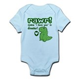 Cute! RAWR Means Love Onesie