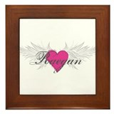Raegan-angel-wings.png Framed Tile
