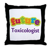 Future Toxicologist Throw Pillow