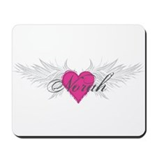 Norah-angel-wings.png Mousepad