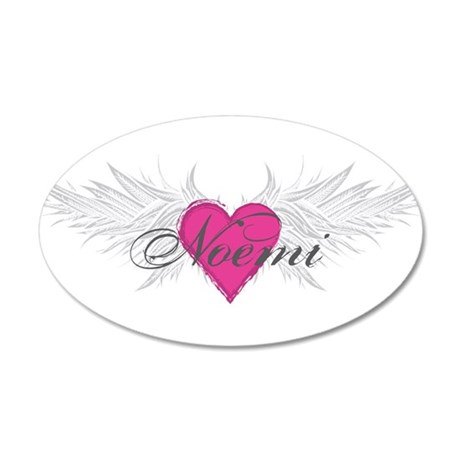 Noemi-angel-wings.png 35x21 Oval Wall Decal