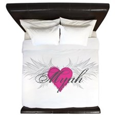 Myah-angel-wings.png King Duvet
