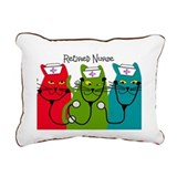 Retired Nurse Blanket CATS.PNG Rectangular Canvas