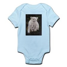 Young polar bear Infant Bodysuit