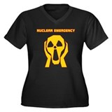 Nuclear Emergency Women's Plus Size V-Neck T-Shirt