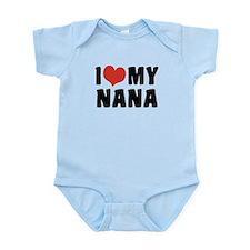 I Love My Nana Infant Bodysuit