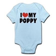 I Love My Poppy Infant Bodysuit