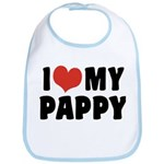 I Love My Pappy Bib