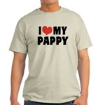 I Love My Pappy Light T-Shirt